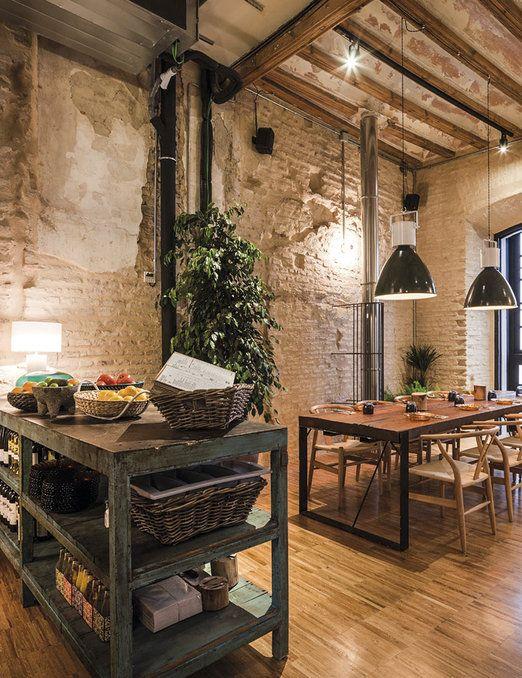 Las 25 mejores ideas sobre restaurantes italianos en for Disenos de bares rusticos