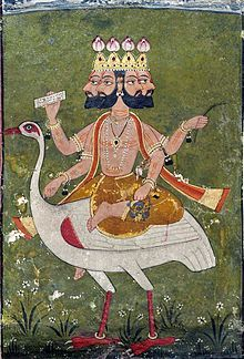 Ravana, primary antagonist in Ramayana.