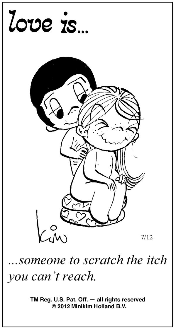 Love Is Comics by Kim Casali 2013 | love is by kim casali conceived by and drawn by bill asprey