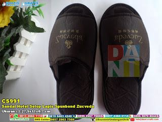 Sandal Hotel Selop Lapis Spunbond Zucveda HUB: 0852-2855-8701 (WA/Telp) #sandalhotelspons #sandalhotelwarnacoklat #sandalhotel #sandalhotelmurah #sandalhotelselop #sandalhotelunik #sandalhotelwarnacoklat #sandalhotelsponsselop #SandalHotel #JualHotel #souvenirUnik