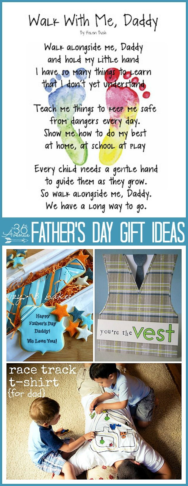 Father's Day Gifts ... So many cute handmade gift ideas!