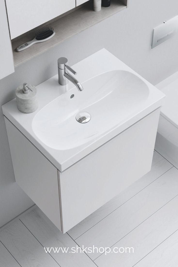 Keramag Acanto Waschtischunterschrank Compact 500614 595x535x416mm In 2020 Waschtischunterschrank Waschtisch Klein Neues Badezimmer