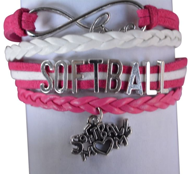 This Sportybella Softball Mom Bracelet is a beautiful and fun way to express your love of Softball. This makes a Perfect gift for Softball Moms. Show your appreciation for that special mom with this Infinity Softball Bracelet. Details of Bracelet: Softball Mom Bracelet: Pink & White Softball Bracelet Size: Softball bracelets are adjustable, 6-8 Inches Adjustable Length Material: …