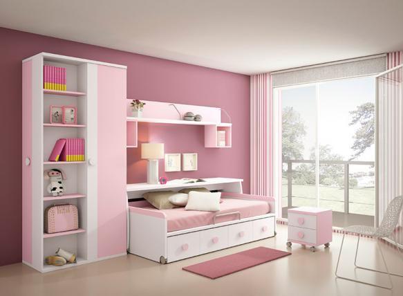 Las 25 mejores ideas sobre dormitorios individuales en - Dormitorio juvenil nina ...