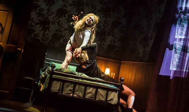 Sean Mathias's stage adaptation of The Exorcist does a sterling job of getting under the skin. #TheExorcist #theatre #review #horror