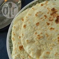 Foto recept: Zelfgemaakte tortilla's