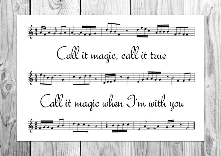 Coldplay - Magic - Unique Song Sheet Art Poster