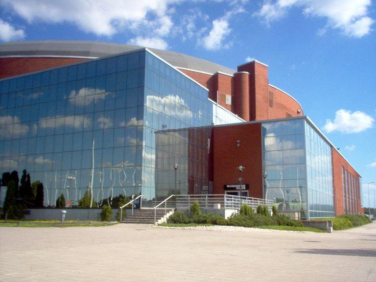 Areenassa on tultu nähtyä monta TPS:n lätkäottelua!   I've been to countless hockey games here :)