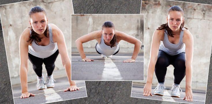 Die große 4 Wochen Burpee-Challenge - jetzt auf gofeminin.de  http://www.gofeminin.de/sport/4-wochen-burpee-challenge-s1308463.html