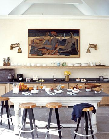 """""""I tried to limit the traditional kitchen elements, because I wanted it all to feel more like furniture."""""""