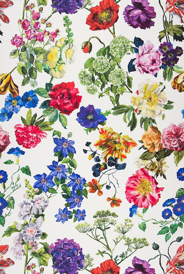 Primavera flores colores