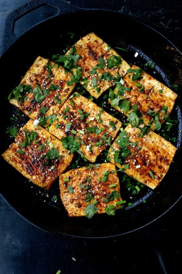 """Spicy Griddled Tofu """"Steaks"""" 