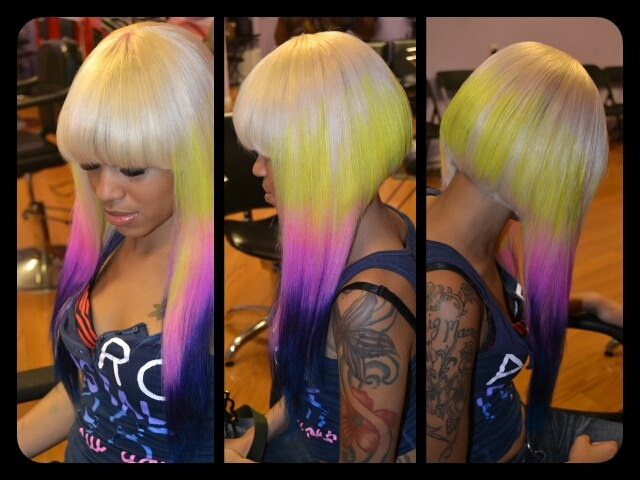 awesome hairstyles 2 funky hairstyles minaj hairstyles hairstyle baw ...