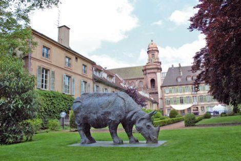 Le parc du musée Théodore Deck à Guebwiller.
