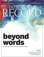 The Presbyterian Record magazine website
