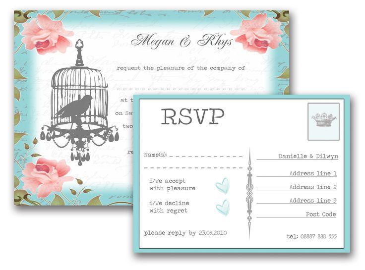 Wedding Invitations Birdcage: 10+ Images About Wedding Invitations On Pinterest