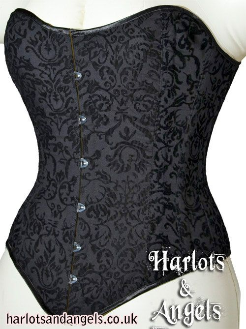 THIS LISTING IS FOR A LARGE PATTERN - CORSET WAIST SIZE IS 32-34-36 TO FIT APPROX NATURAL WAIST OF 35-41 IF LACING ALMOST CLOSED.  A PDF digital download Corset pattern for a beautiful Long line Victorian over bust corset.  prints out full sized on a4 or usa letter paper. all instructions assembled  At Harlots and Angels Corsetry we have over 25 years experience in making and fitting traditional tight lacing corsets. For the first time we are releasing our full range of corset patterns for…