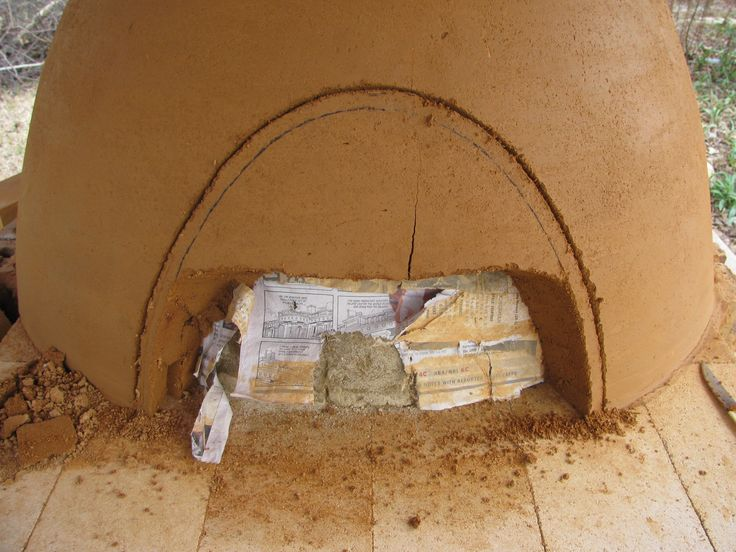 18096d1269639907 cob oven build clay pizza oven for How to make a cob oven