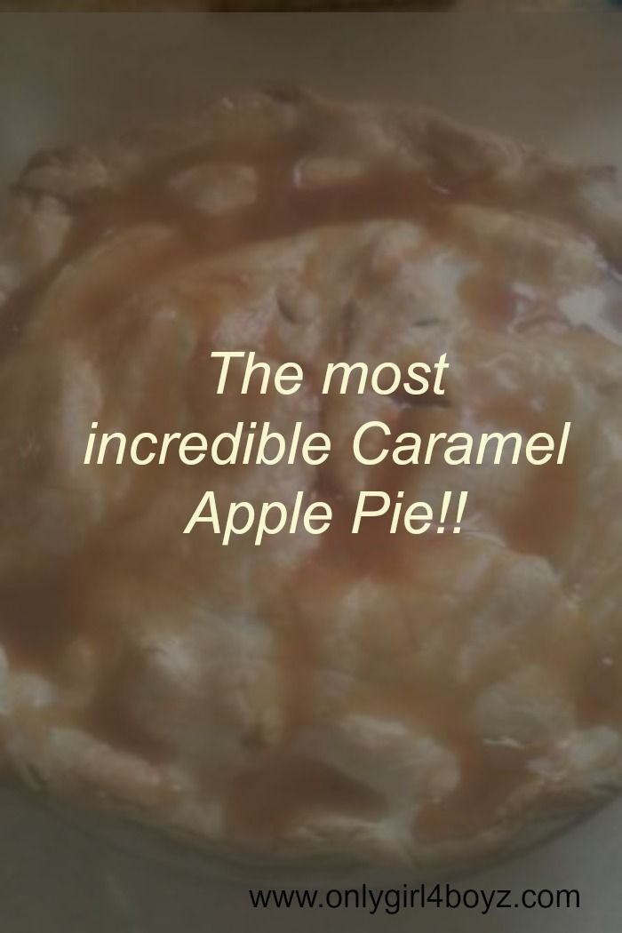 One of the best & easiest apple pies I've ever made!! This will be sure to impress your friends & family! Visit www.onlygirl4boyz.com for more amazing recipes!