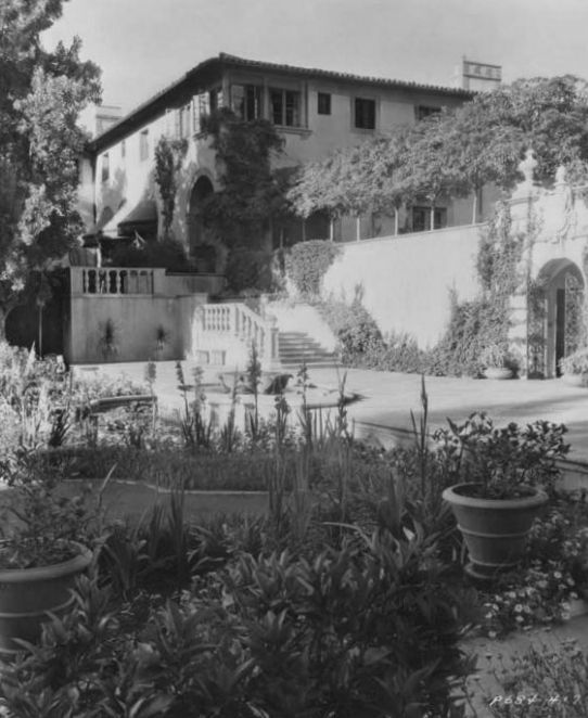 Historic Houses Of California Los Angeles County Beverly Hills Harold Lloyd Estate 1928