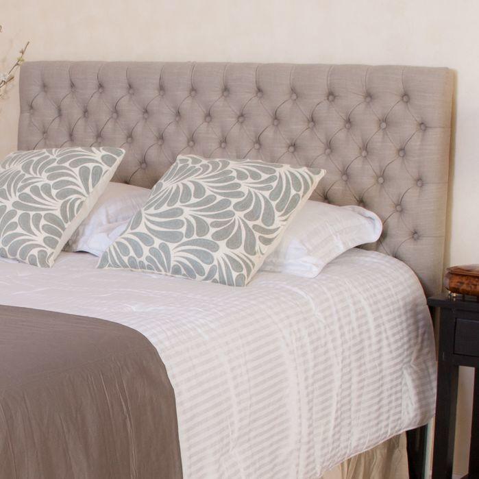 Lovely Marie King/California King Upholstered Headboard Design Inspirations