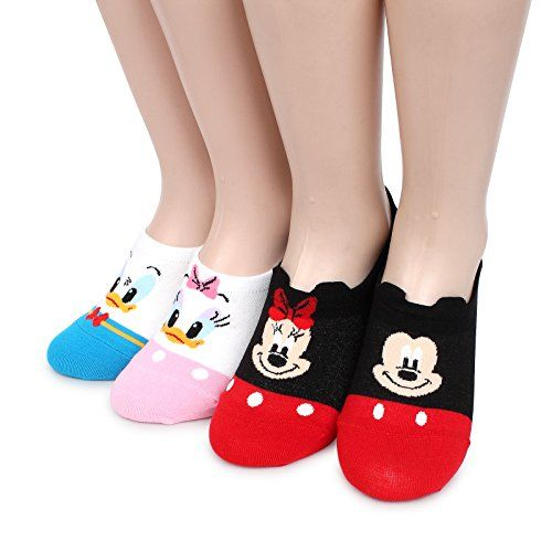 Disney Licensed Mickey Mouse Loafer Socks pack of 4pairs ... https://www.amazon.com/dp/B06XC2YT6N/ref=cm_sw_r_pi_dp_x_u.8TybES29YQX