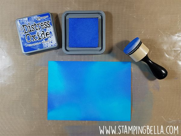 How To Create A Galaxy Background Distress Ink Blending Thecraftbunny Distress Ink Techniques Distress Ink Tim Holtz Distress Ink