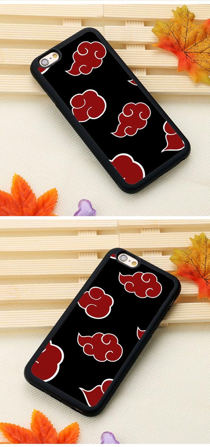 iPhone Case Naruto Akatsuki Clan Cloud Symbol