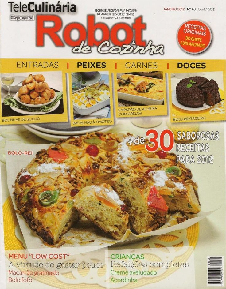TeleCulinária Robot de Cozinha Nº 48 - Janeiro 2012