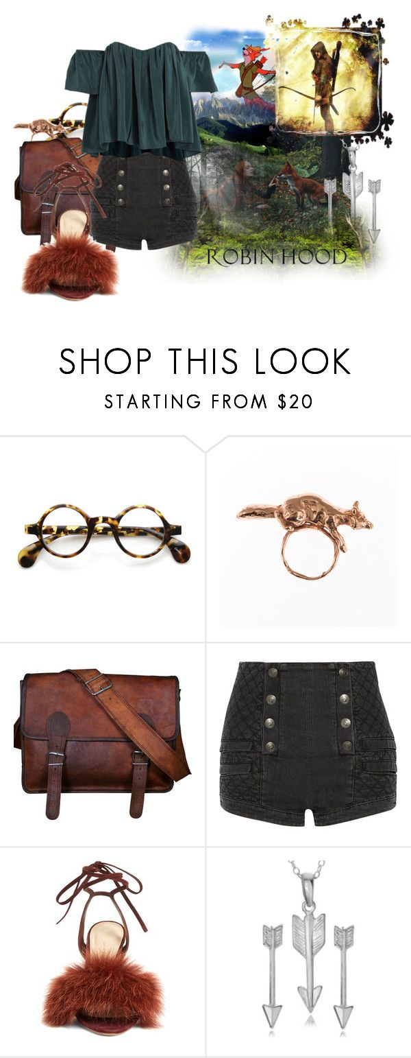 """""""Robin Hood"""" by cute-but-psycho-123 ❤ liked on Polyvore featuring Ciel, Disney, Rainforest, ZeroUV, By Emily, Pierre Balmain, Stone_Cold_Fox, Loeffler Randall and Journee Collection"""
