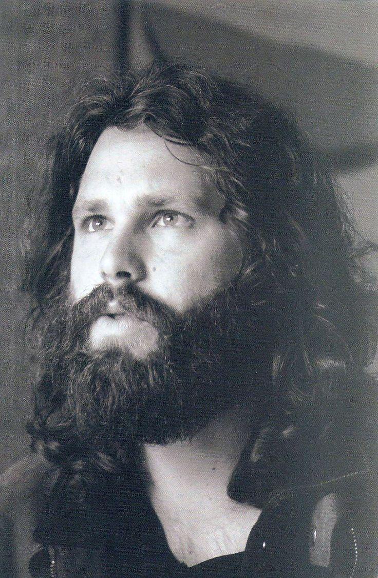 Jim Morrison Beard And Facial Hair Pictures Big Set