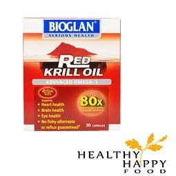 Bioglan Red Krill Oil has 80x MORE antioxidant activity than a standard 1000 mg Cod Liver Oil capsule and 10x MORE antioxidant activity than a standard 1000 mg