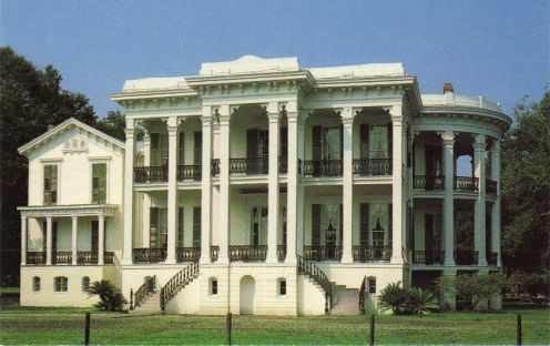 Nottoway Plantation is the largest plantion home in the South.  It has sixty-four rooms, two hundred windows, and over fifty-three thousand ...