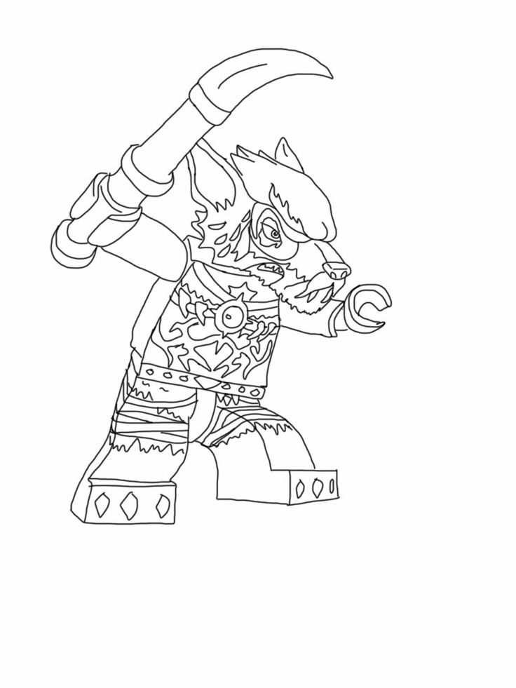 Lego Chima Wolf My Son Would Probably Know Which One But Lego Chima Coloring Page