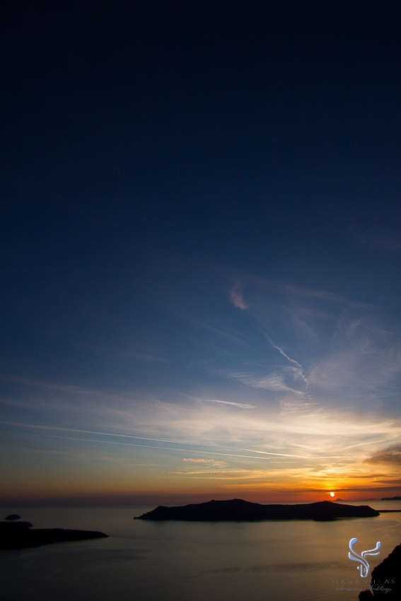 An amazing sunset day