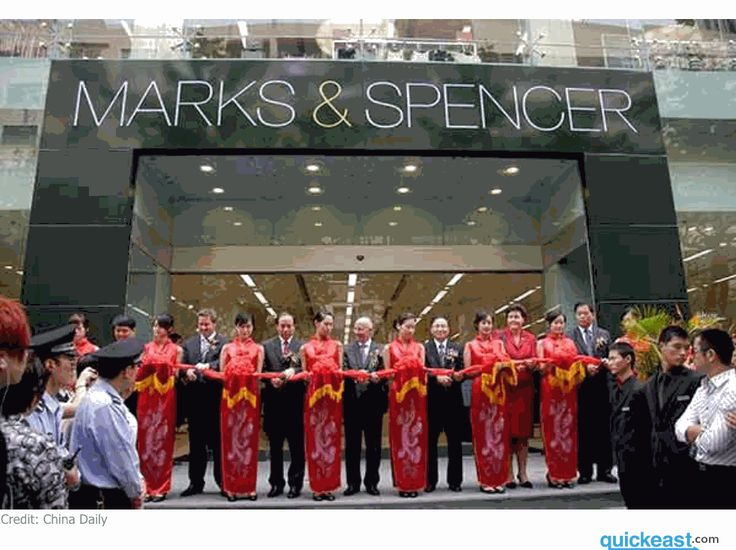 "After slowing international sales, Marks & Spencers has decided to close about 60 clothing and homeware stores around the world including all 10 in China. China will no longer be one of the 58 countries where M&S has a physical presence. Managing director of Greater China for Marks & Spencer Adam Colton said, ""Our review has shown that our stores in mainland China continue to make losses and as a result we can no longer trade with a store presence in the Chinese market."""