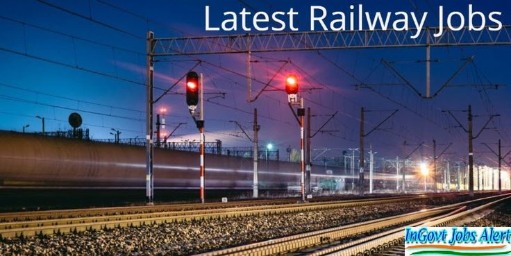 We are offering all indian railway latest jobs 2017-2018 vacancies in private and government both sector and get free latest railway jobs, vacancies, require notification and alerts on your phone by sms.