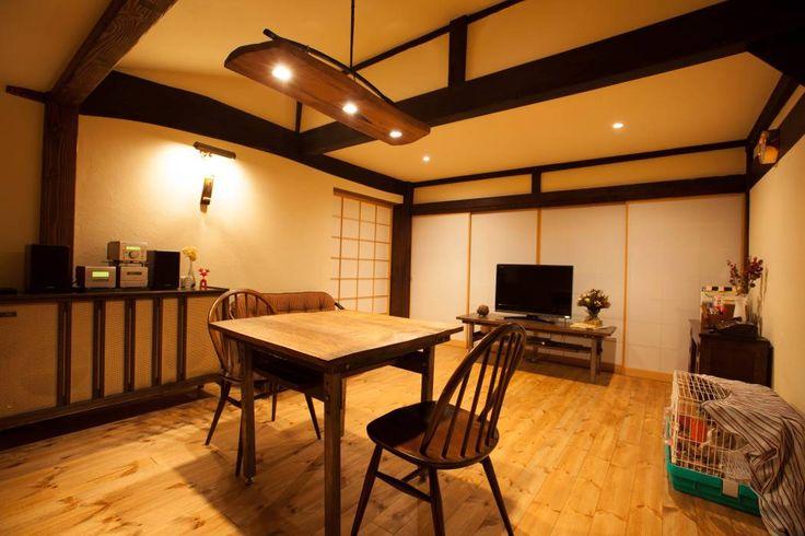 山梨の舎Ⅱ(民家再生)‐リビング: 有限会社中村建築事務所が手掛けたtranslation missing: jp.style.多目的室.asian多目的室です。