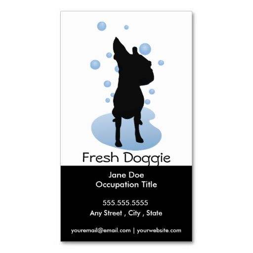 52 best dog grooming images on pinterest dog grooming business card loyalty card solutioingenieria Gallery