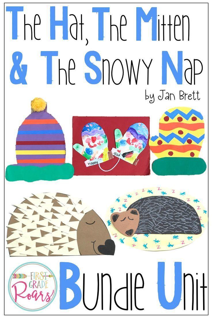 The Mitten The Hat The Snowy Nap By Jan Brett The Mitten By Tresselt In 2020 Mitten Hat Crafts Jan Brett