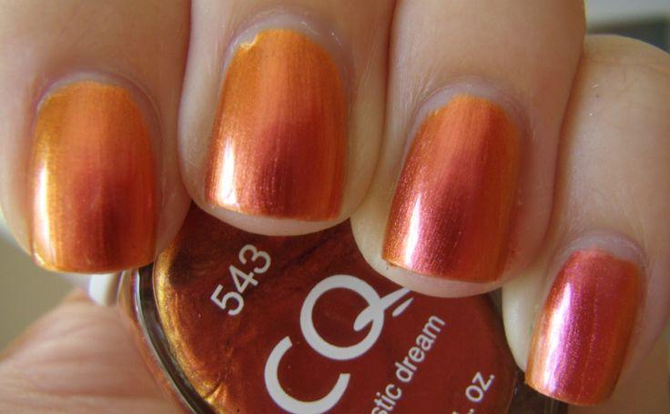 12 best oranges images on Pinterest | Nail polish, Orange and Nail ...