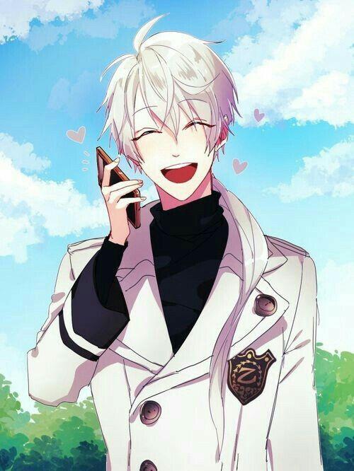 Cute Anime Nsfw Wallpaper Zen Hyun Ryu Smiling Hearts Cellphone Blushing Cute