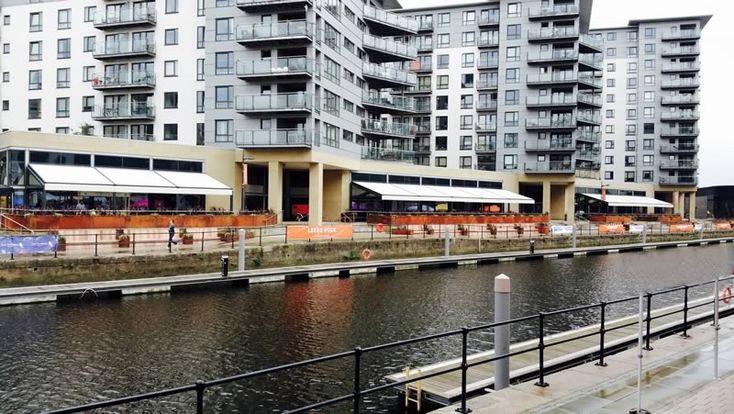 Fremantle Urban® Architectural Awnings at Leeds Dock