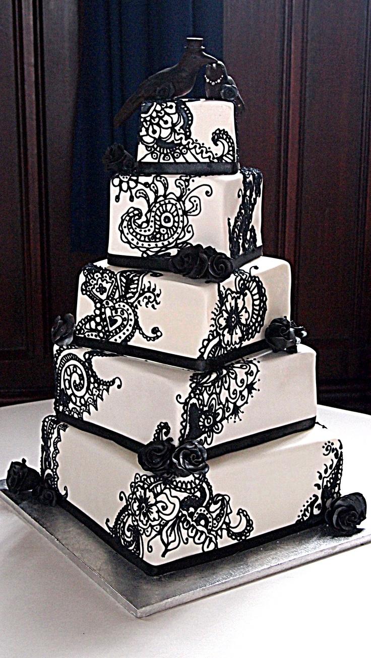 Rainbow Wedding Cakes 29 Ideal Black and white wedding