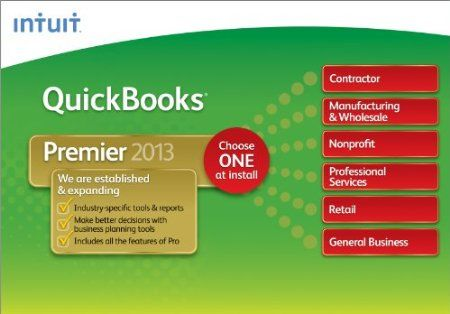 QuickBooks Premier is tailored to your business to help you get organized and stay on top of your business finances.Price: $249.99