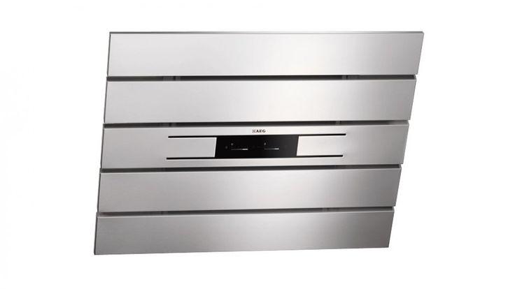 AEG Designer Wall Canopy Rangehood - 90cm - Rangehoods - Appliances - Kitchen Appliances | Harvey Norman Australia