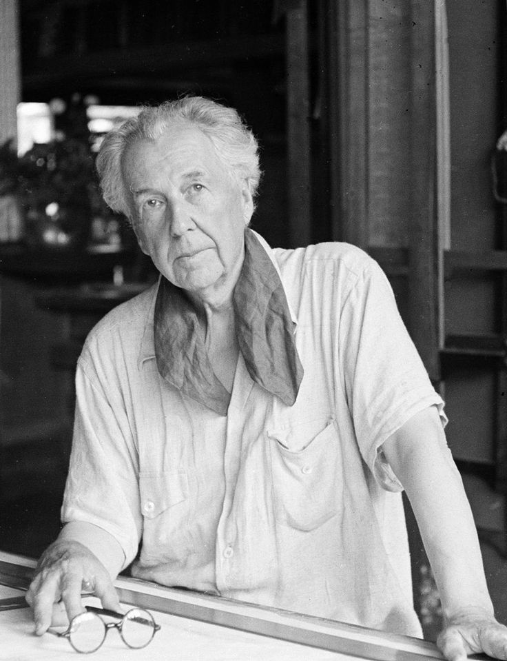 Give me the luxuries of life and I will willingly do without the necessities. -Frank Lloyd Wright