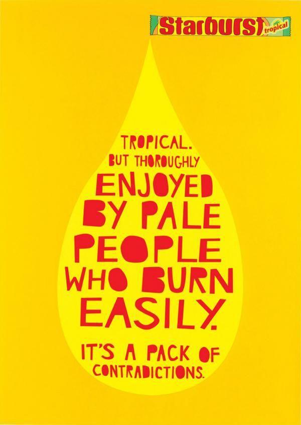 starburst tropical | best copy ads