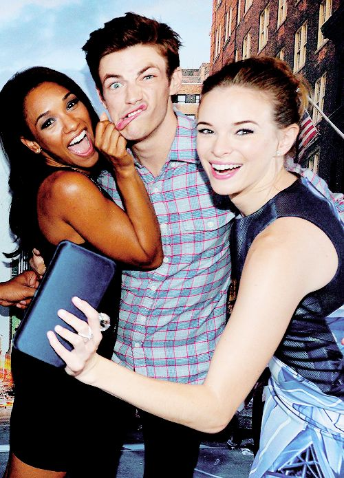 Cast of The Flash! New on the CW!