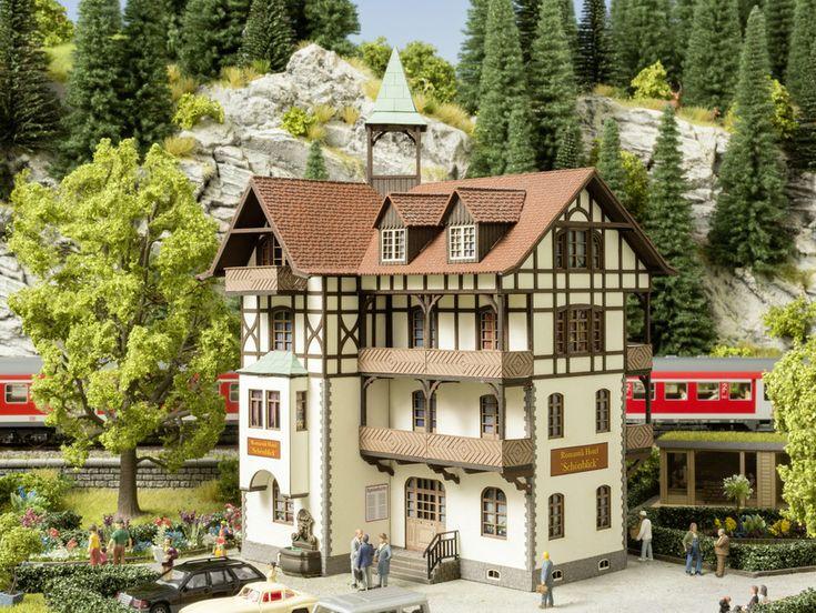 Laser-Cut Bausatz Romantik-Hotel »Schönblick«